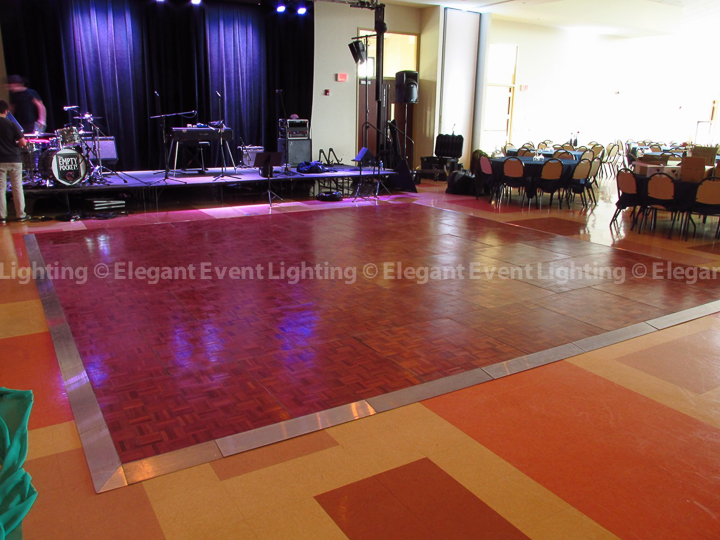 Cherry Wood Dance Floor