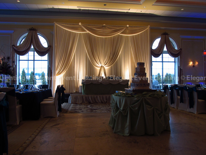 Fabric Backdrops | Elegant Event LightingElegant Event Lighting
