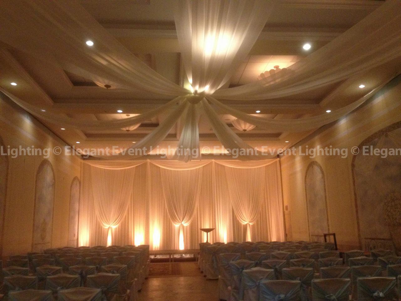 Monogram lighting custom wedding monogram lighting - Christina Amp Eric S Venuti S Wedding Elegant Event