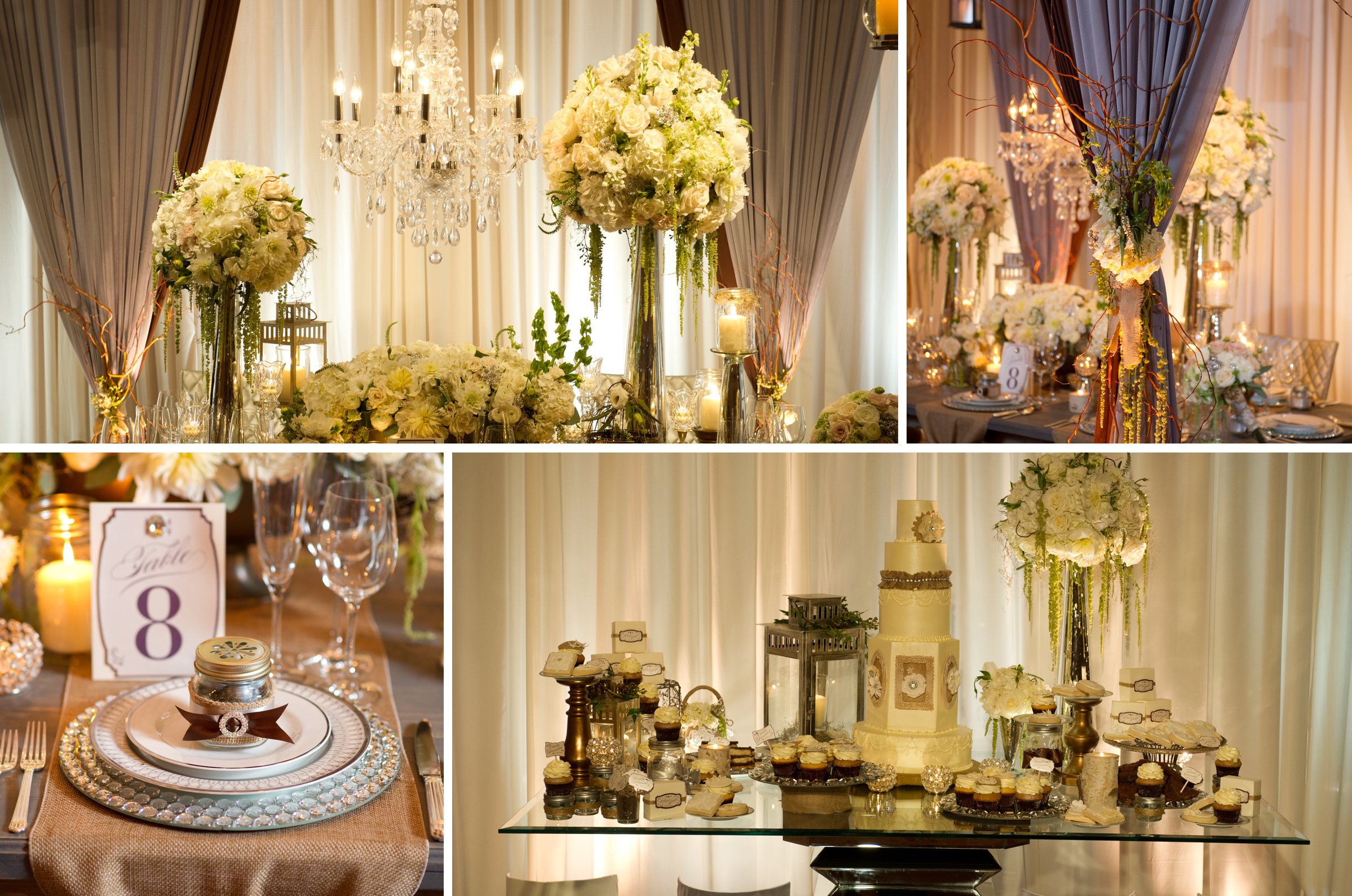 Elegant Event Lighting Featured In Chicago Style