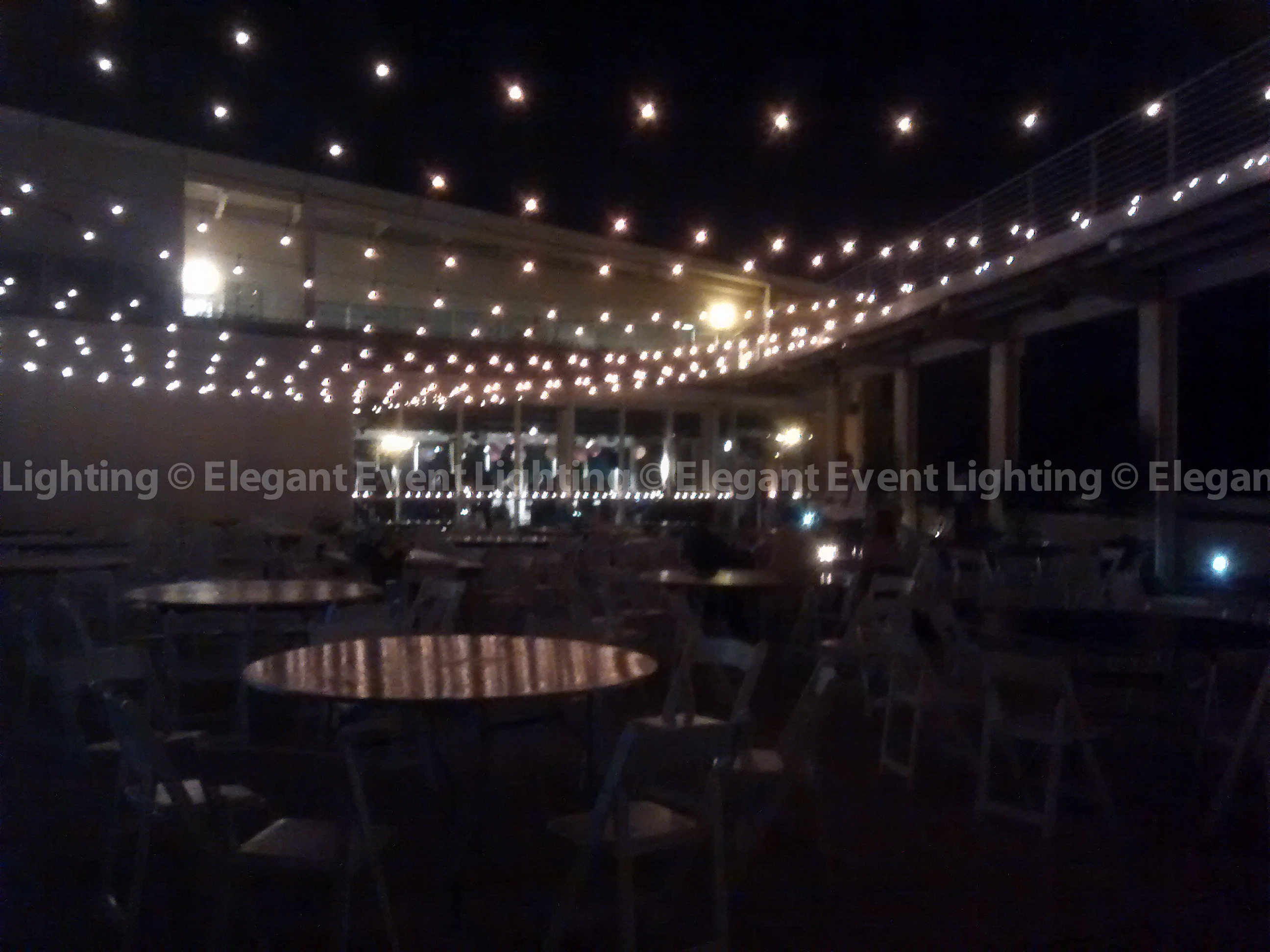 Eel chicago year in review caf globe italian string for Terrace lighting