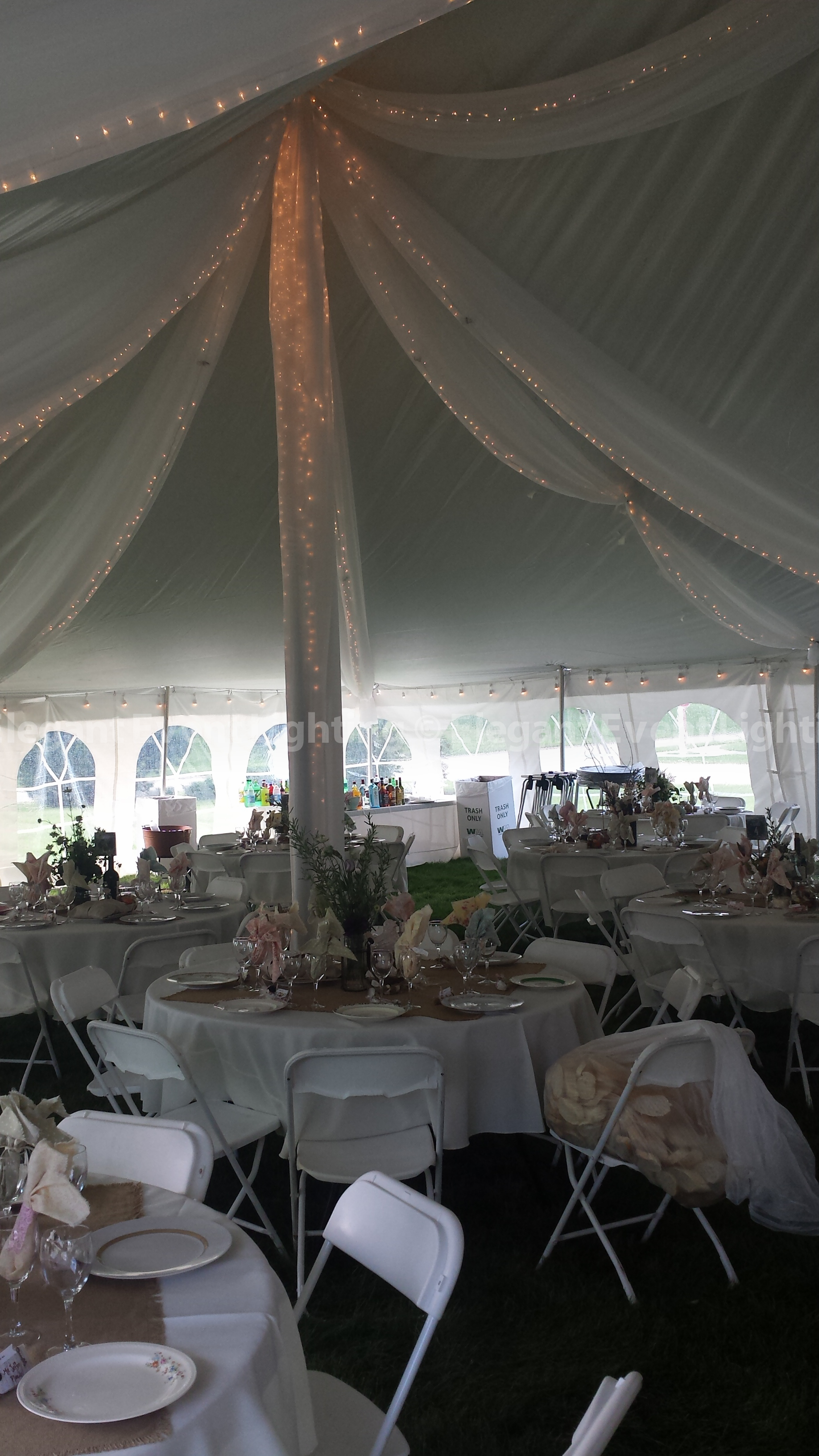 Elegant Event Lighting Chicago Year in Review | Wedding ... Wedding Tent Lighting