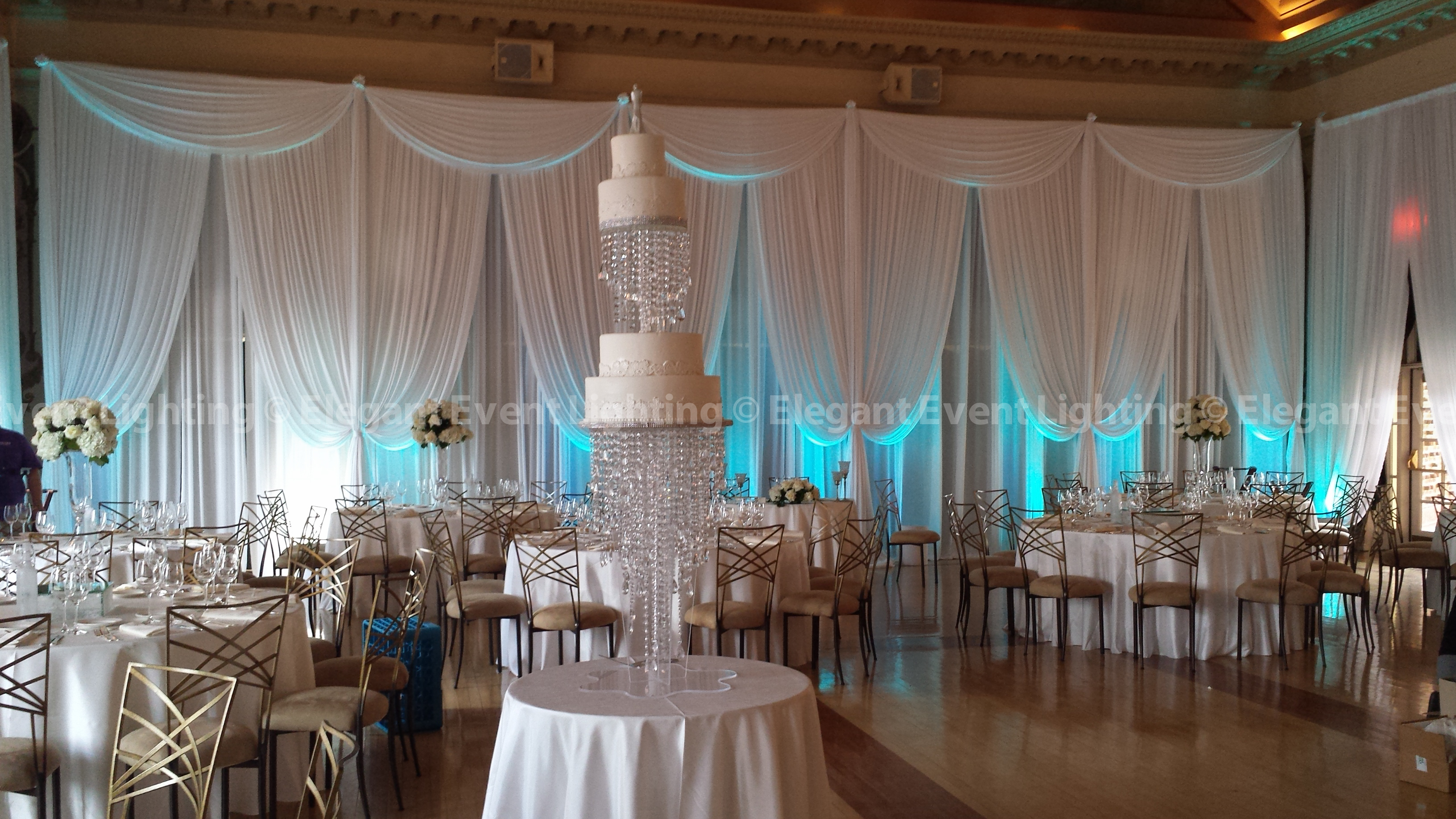 Wall Event Decoration : Elegant event lighting chicago year in review