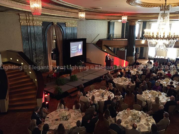 Uplighting intercontinental chicago for Table 52 schaumburg