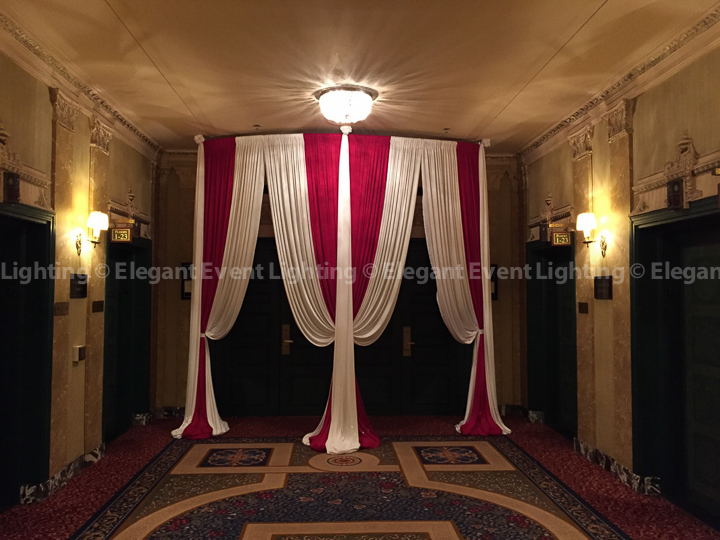 Drape entrance intercontinental chicago for Table 52 schaumburg