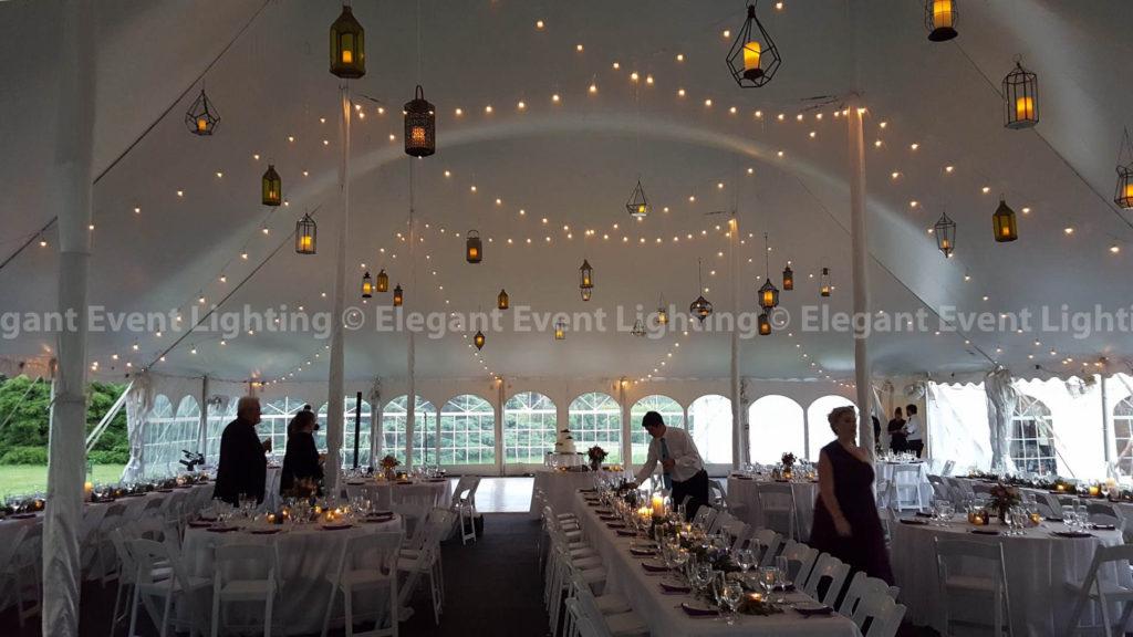 Cafe Lights Hanging Lanterns Morton Arboretum