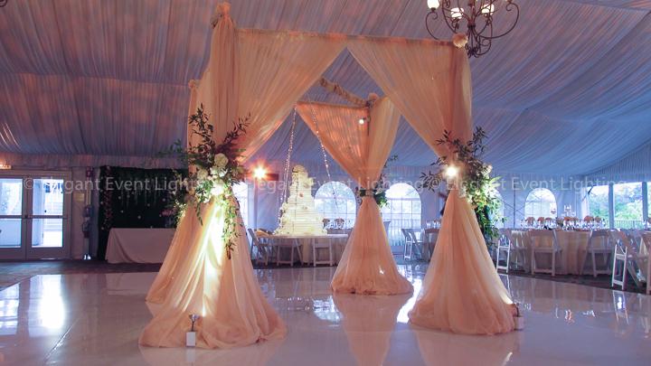 "Lally Eaglewood Resort Wedding- ""floating cake"""