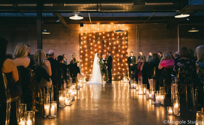 Elegant_Event_Lighting_Morgan_Manufacturing_Chicago_Wedding_Vertical_Cafe_Globe_Lighting_ceremony