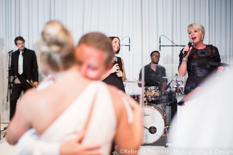 Elegant_Event_Lighting_Venue_Six10_Chicago_Wedding_Band_BAckdrop_First_Dance