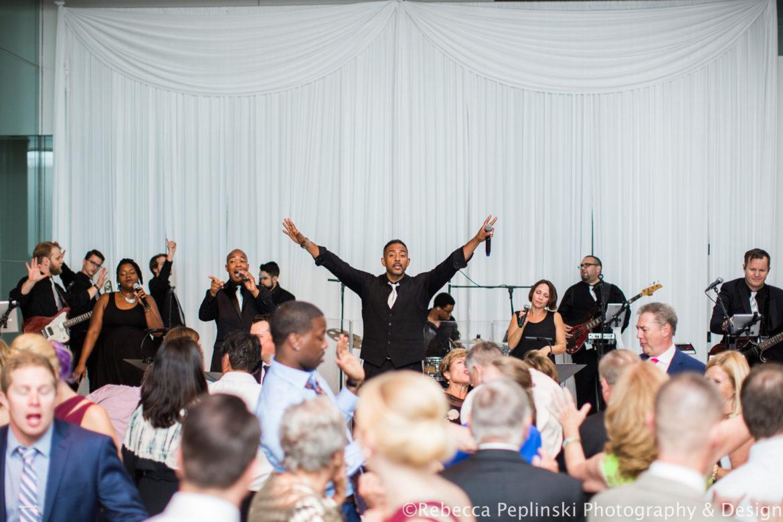 Elegant_Event_Lighting_Venue_Six10_Chicago_Wedding_Band_Backdrop_Reception