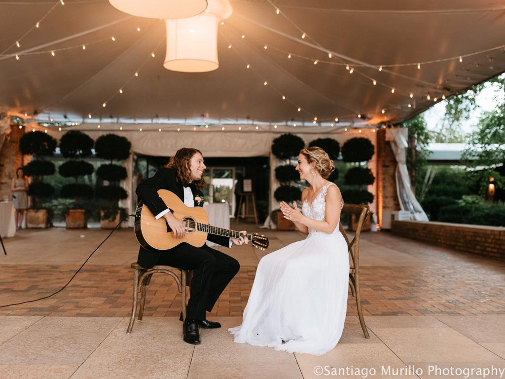 Jenny & Ari's Chicago Botanic Garden Wedding