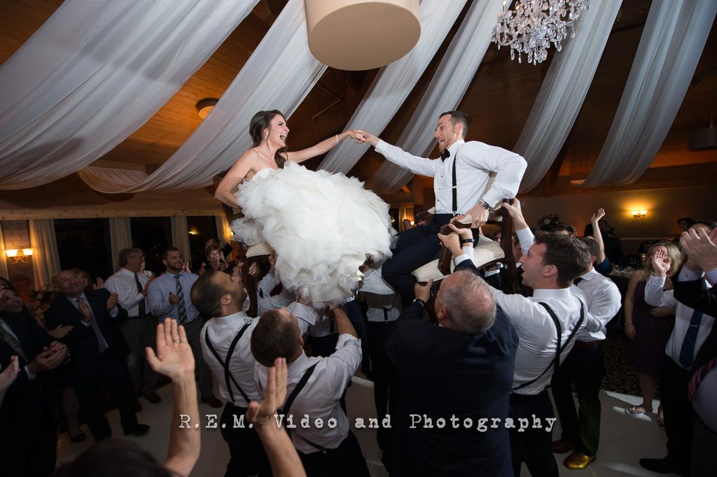 Elegant_Event_Lighting_Chicago_Kemper_Lakes_Kildeer_Wedding_Ceiling_Drape_Crystal_Chandelier_Celebration