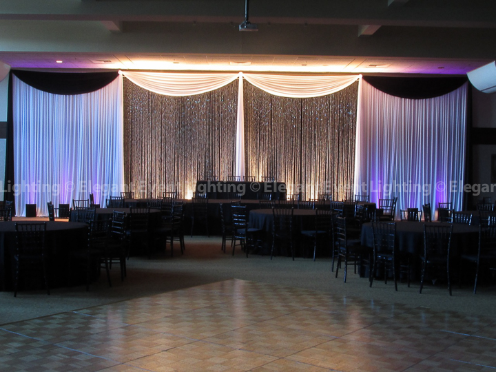 Crystal Wedding Backdrop