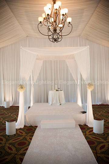 Chuppahs Amp Bridal Canopies Elegant Event Lighting Chicago