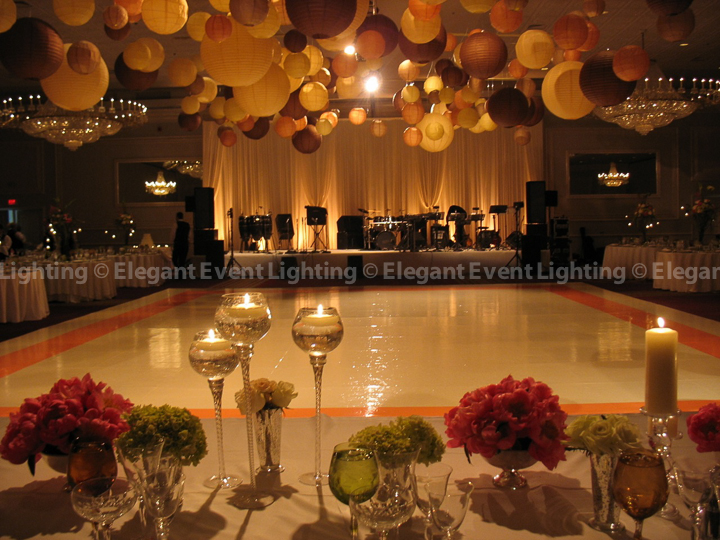 Hanging Paper Lanterns | Elegant Event Lighting