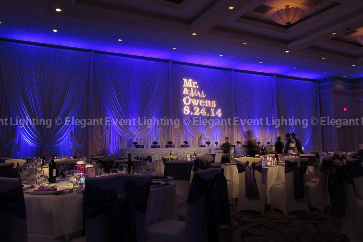 Wedding Head Table Backdrop