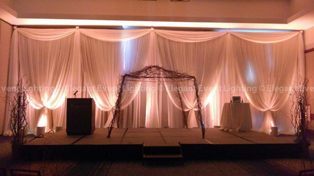 Eaglewood Resort & Spa Ceremony Backdrop