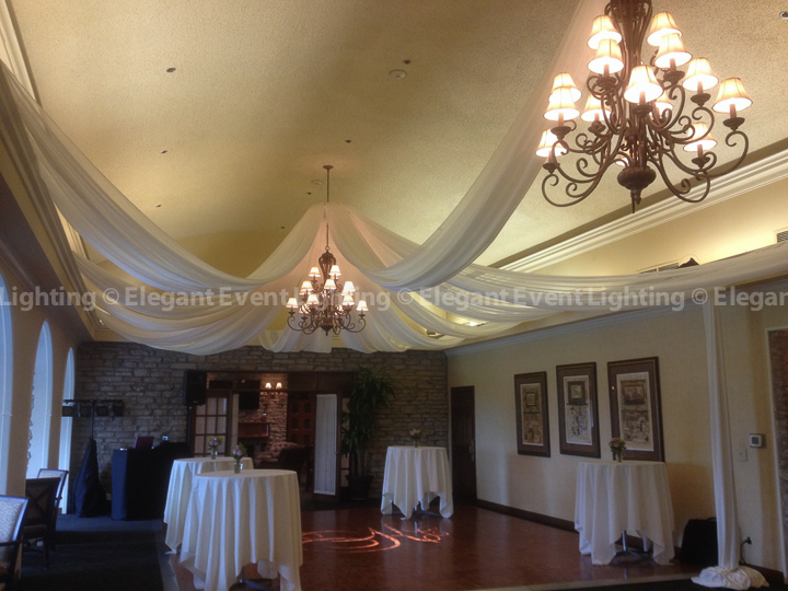Elgin Country Club Ceiling Draping