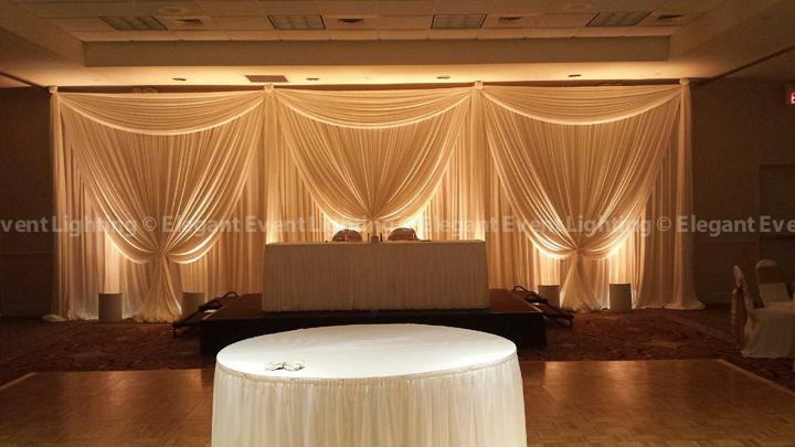 Hilton Garden Inn St. Charles Sweet Heart Table Backdrop