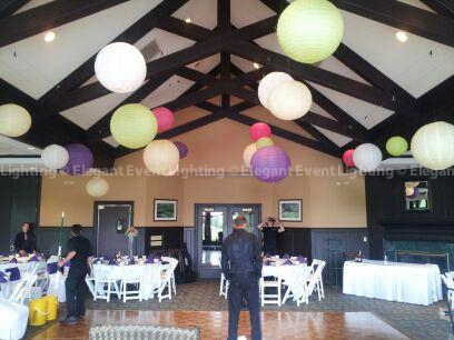 Paper Lanterns | Bartlett Hills Golf Club