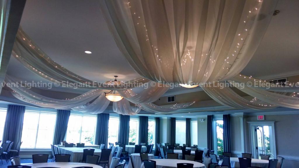 Prairie Landing Ivory Ceiling Canopy
