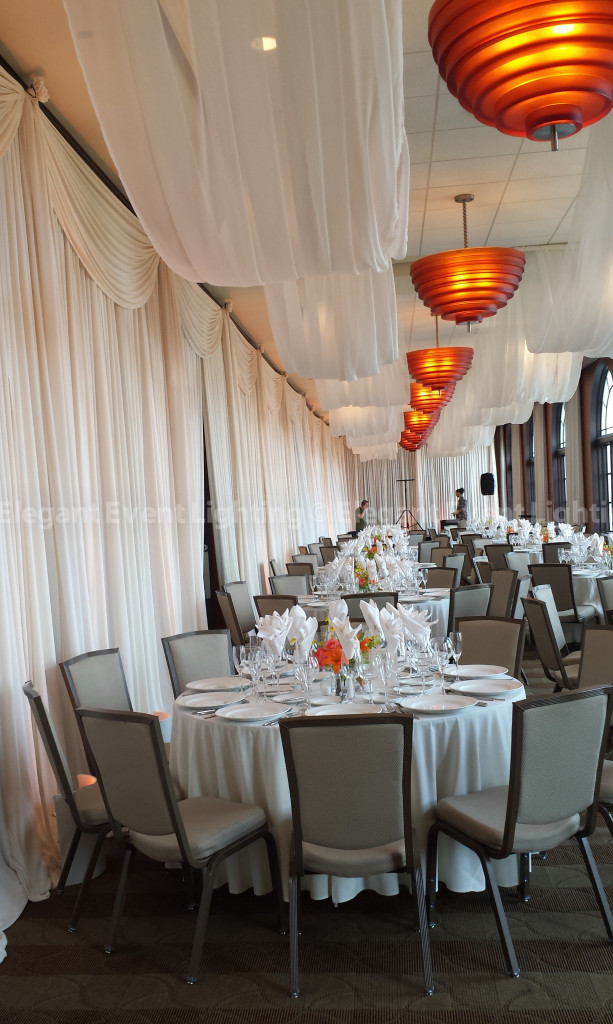 Hilton Orrington | Ivory Cloud Ceiling Canopies