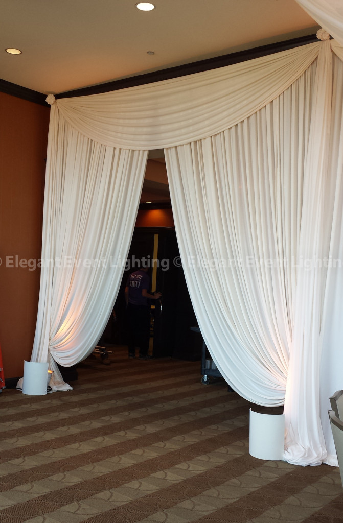Hilton Orrington | Dramatic Drape Entrance