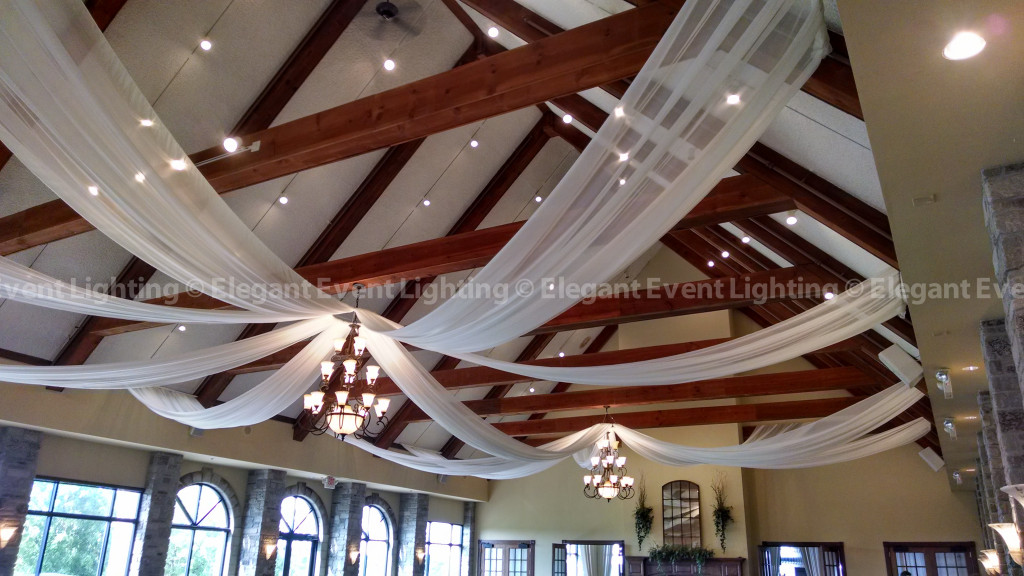The Legend at Brandybrook | Wedding Ceiling Draping