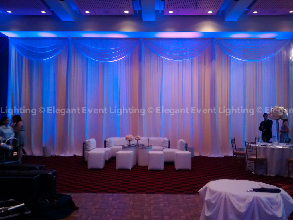 National Italian Sports Hall of Fame - Drape Wall & Lounge Furniture