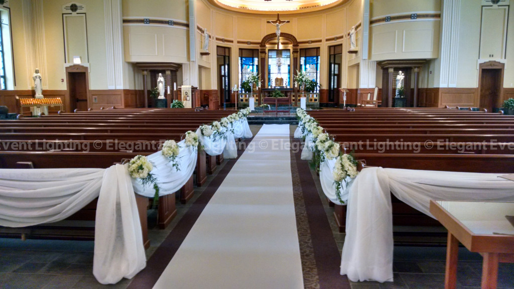 St. Issac Jogues Catholic Church | Ceremony Draping