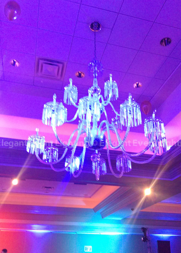 Chandelier LED Lighting | Bolingbrook Golf Club