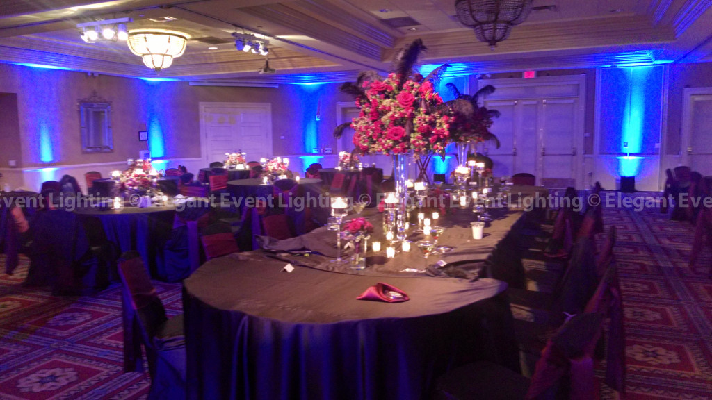 Head Table Downlighting | Bolingbrook Golf Club