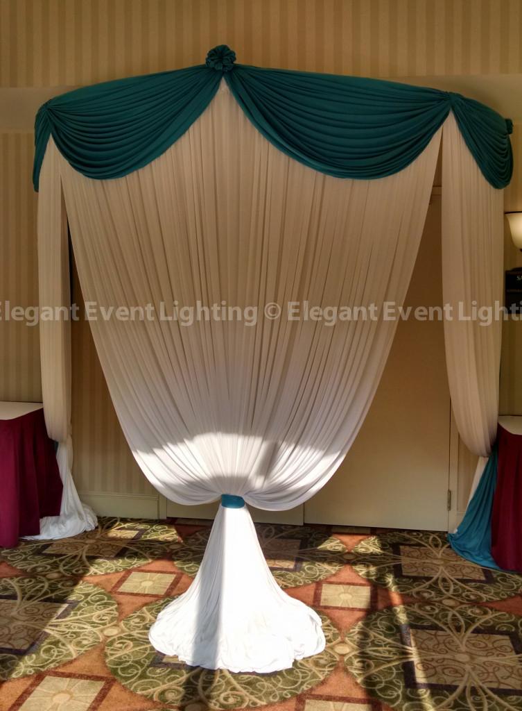Drape Entrance | Hilton Garden Inn St. Charles