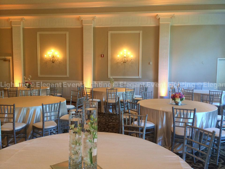 Abbington Distinctive Banquets | Uplighting