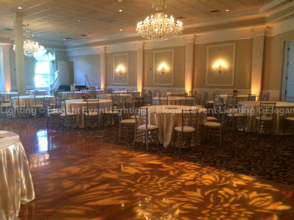 Dance Floor Pattern Lighting | Abbington Distinctive Banquets