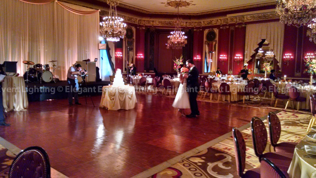 Palmer House Hilton | Pin Spot Lighting