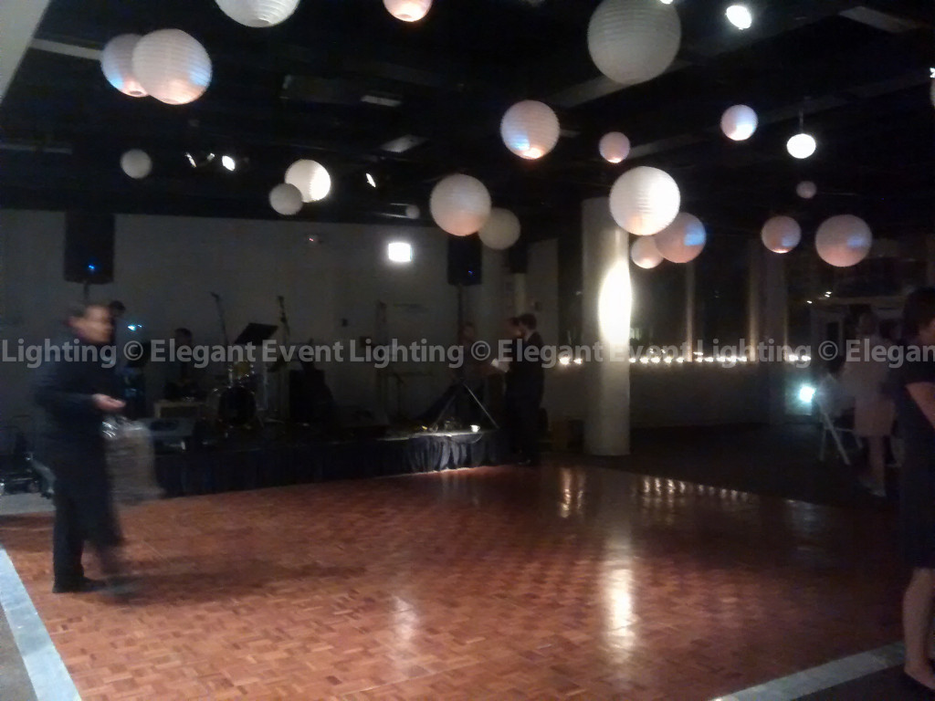 Dance Floor & Illuminated Paper Lanterns | Peggy Notebaert Nature Museum