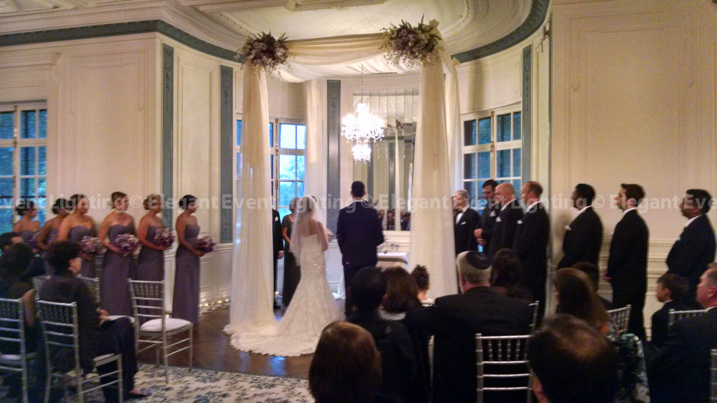 Ivory Fabric Chuppah | Armour House