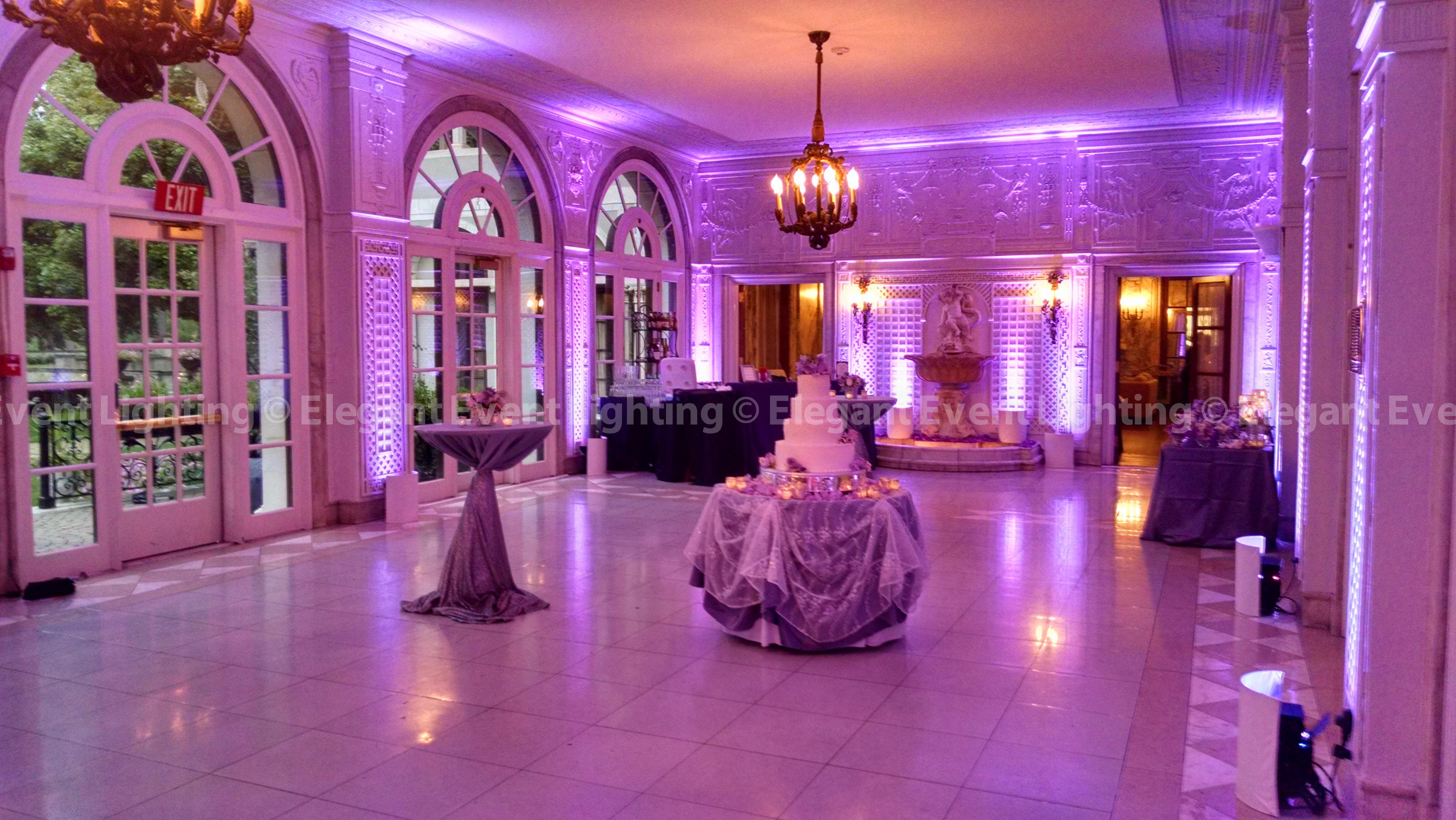 Elegant Event Lighting Chicago Year In Review Uplighting