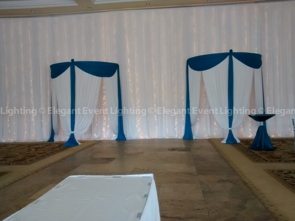 Entrance & Wall Draping | Venuti's