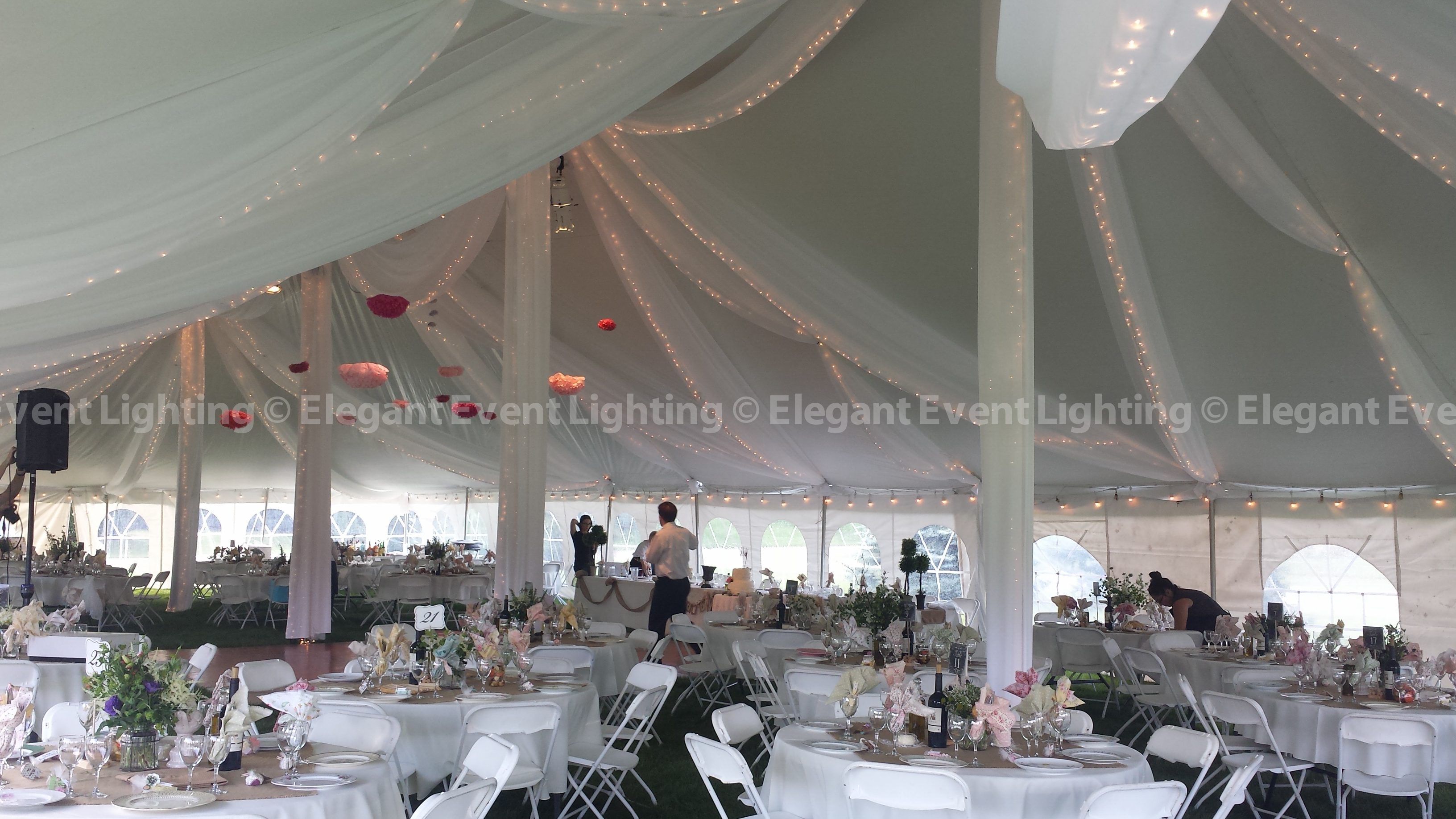Elegant Event Lighting Chicago Year In Review Wedding