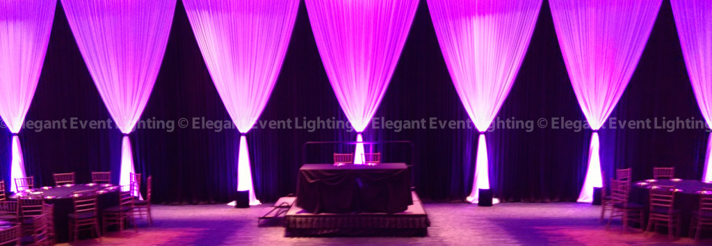 Wall Draping | Eaglewood Resort & Spa
