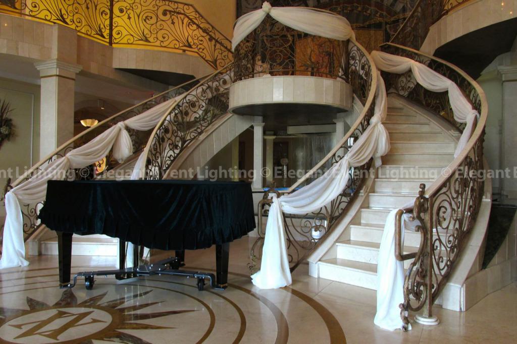 Staircase Draping | Venuti's