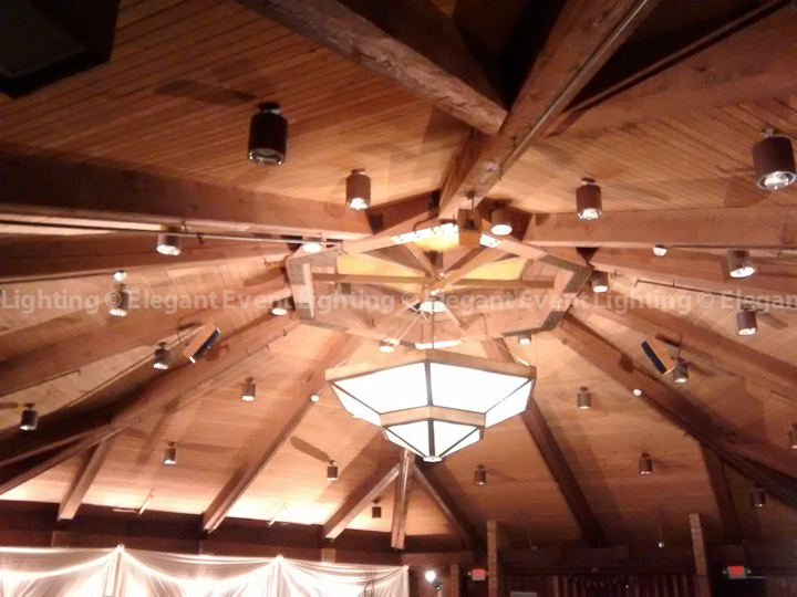 Amber Ceiling Lighting | Trillium Ballroom - Indian Lakes Resort