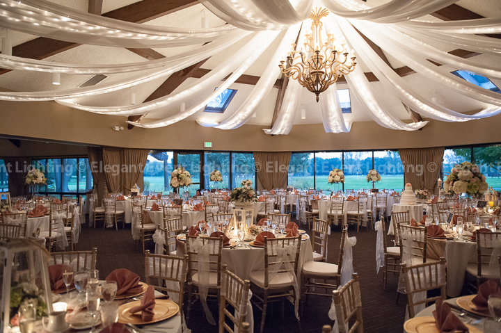 Ceiling Draping | Briar Ridge Country Club