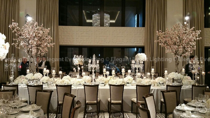 Pin Spot Flower Lighting | The Langham Hotel