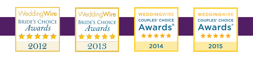 WeddingWire Couples' Choice Award® 2015  | Elegant Event Lighting