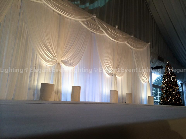 Ceremony Backdrop & Stage Cover | Westin Chicago Northwest