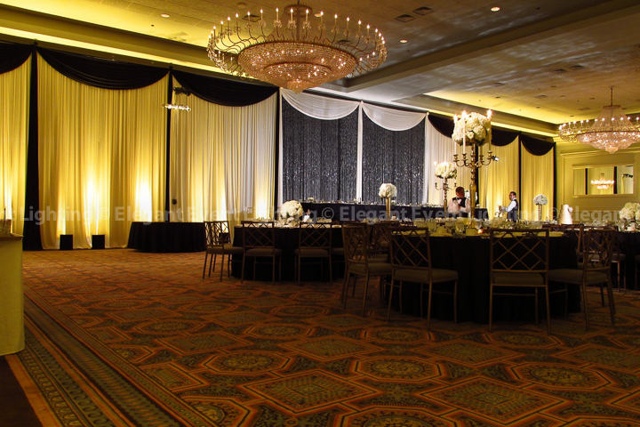 Crystal Curtain Backdrop | Terrace Room - Drury Lane