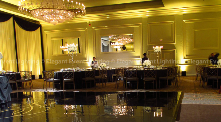 Gold Room Uplighting | Terrace Room - Drury Lane